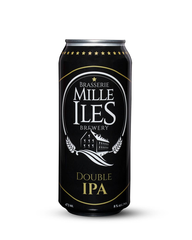 Double IPA beer