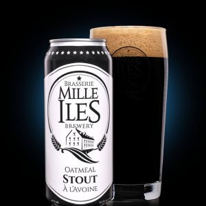 Oatmeal stout beer