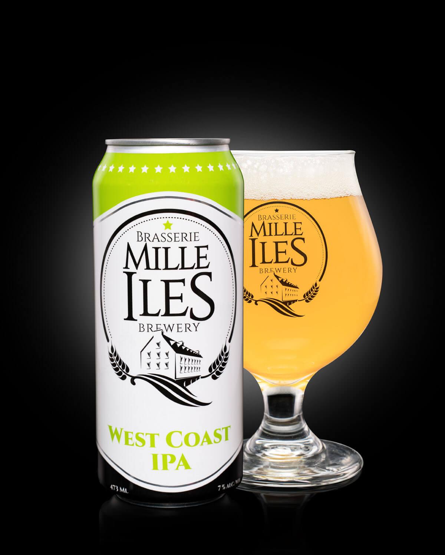 Mille-îles Brewery  West coast IPA