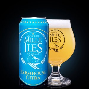 Mille-îles Brewery  Farmhouse Citra