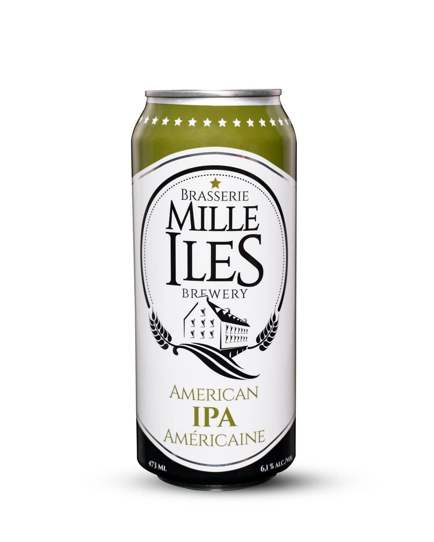 Mille-îles Brewery American IPA