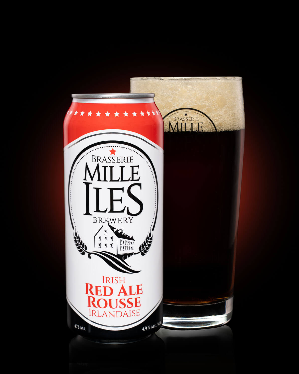 Mille-îles Brewery Irish ale